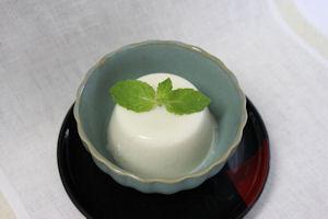 豆腐のブランマンジェ