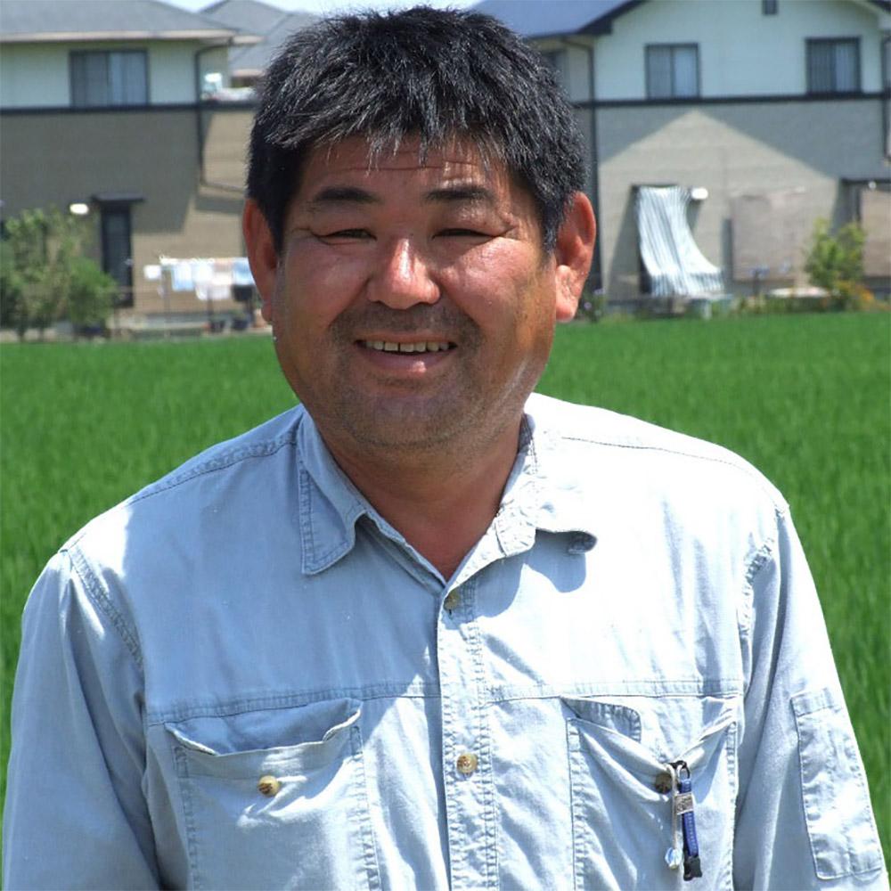 お米生産 有限会社七島農産 代表 七島満好 氏