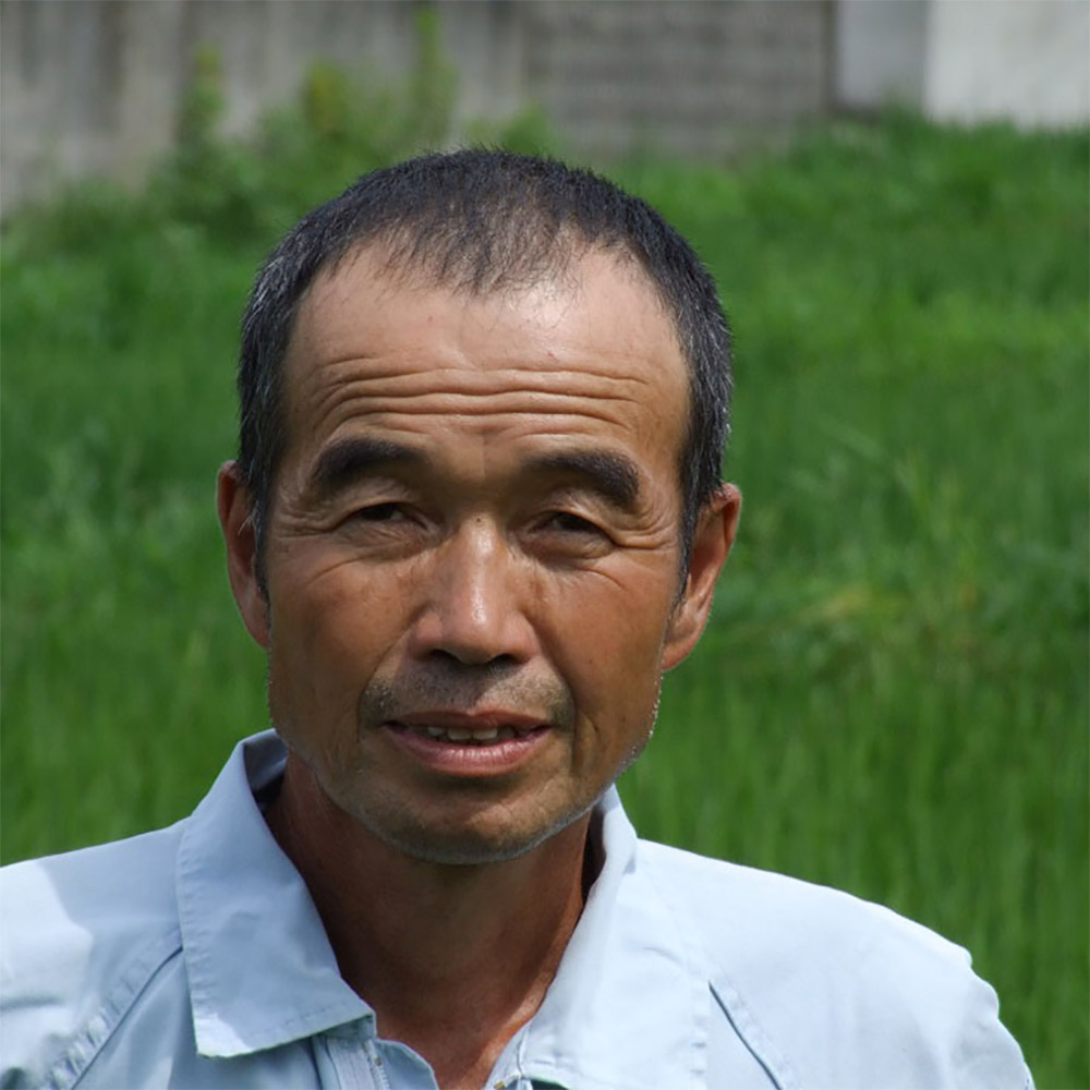 自然方法による古代米の栽培「しもやま農産」代表 太田政春 氏